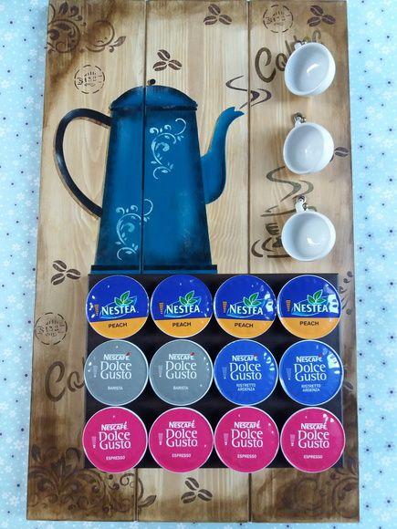 Porta capsulas de cafe - BULE