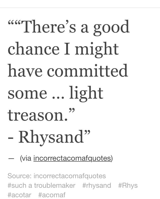 I love Arrested Development and Rhysand so this is fantastic
