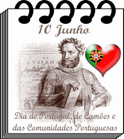 dia de portugal | 10 JUNHO - DIA DE PORTUGAL - DIA DE CAMÕES - DIA DA LÍNGUA ...