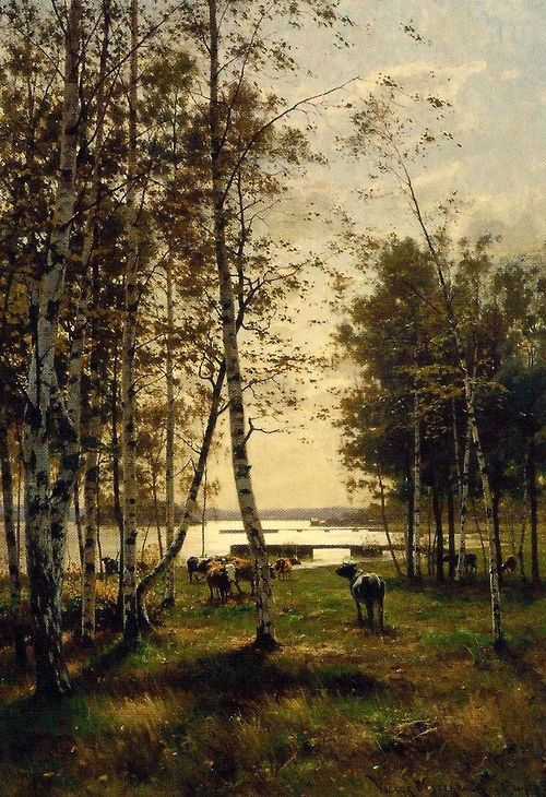 """""""An October's Day in Aland"""" by Victor Westerholm (1885)"""