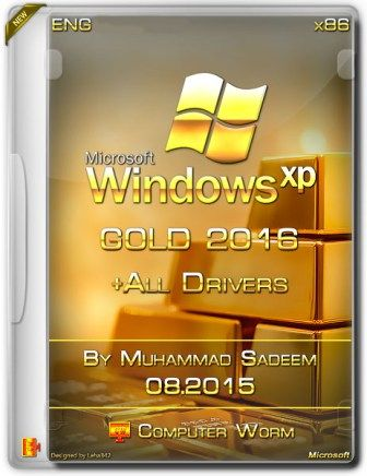 Gold Windows XP SP3 2016 + Drivers By Computer Worm - http://albozdl.com/gold-windows-xp-sp3-2016-drivers-computer-worm/