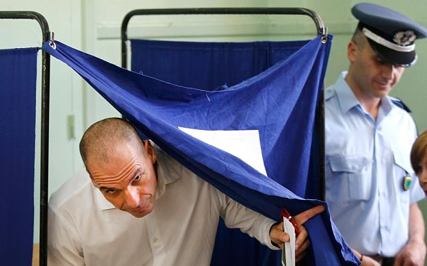 Greece voted on Sunday on whether to accept more austerity in exchange for international aid, in a high-stakes referendum likely to determine whether it leaves the euro-currency area after seven years of economic pain. ✿⊱✦★ ♥ ♡༺✿ ☾♡ ♥ ♫ La-la-la Bonne vie ♪ ♥❀ ♢♦ ♡ ❊ ** Have a Nice Day! ** ❊ ღ‿ ❀♥ ~ Sun 05th July 2015 ~ ❤♡༻ ☆༺❀ .•` ✿⊱ ♡༻ ღ☀ᴀ ρᴇᴀcᴇғυʟ ρᴀʀᴀᴅısᴇ¸.•` ✿⊱╮ ♡