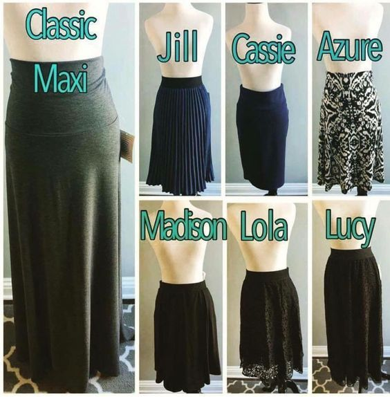 LulaRoe Skirts Maxi,Jill,Cassie,Azure,Madison,Lola,Lucy www.facebook.com/groups/naomisboutique