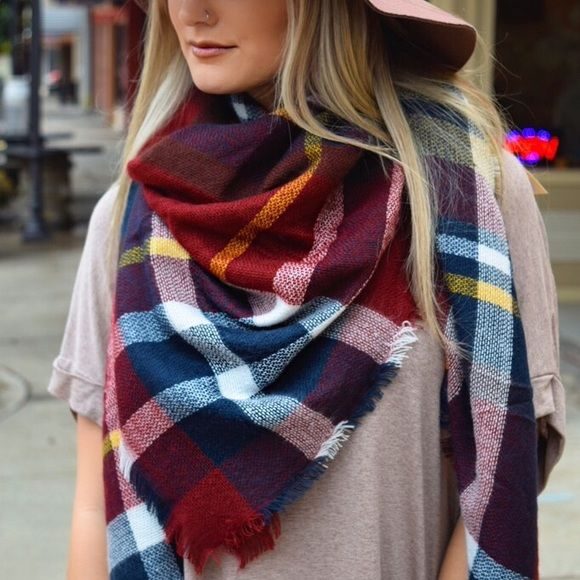 NWT This large blanket scarf is one of the most popular items of the season! There are many ways to wear this staple piece, so the options are endless! It's great for the cold weather, so get it now before the harshest part of the winter hits! Also available in other colors, so check out my closet! Paperback Boutique Accessories Scarves & Wraps