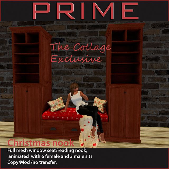 Christmas Nook  by PRIME  The Collage Exclusive by Reven Rosca, via Flickr