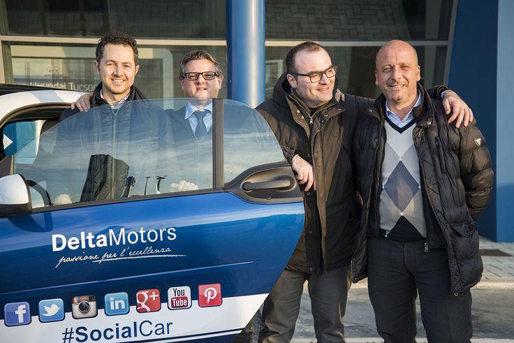 Consegna delle #Socialcar ai venditori DeltaMotors