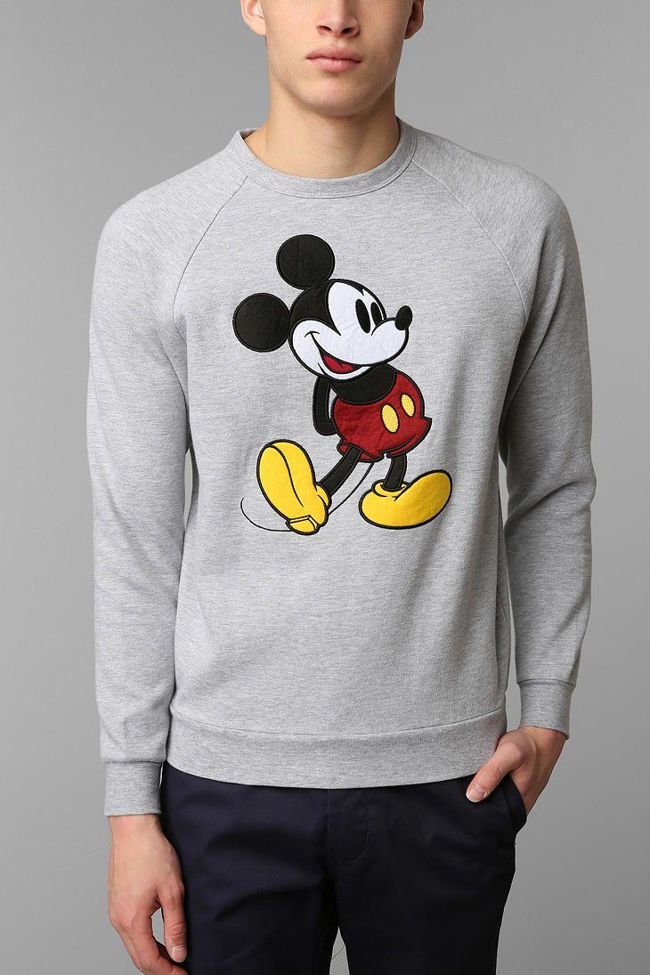 d067321c Classic Mickey Mouse Sweatshirt | Disneyland 2018 | Mickey mouse sweatshirt,  Classic mickey mouse, Fashion