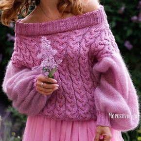 Мое сиреневое настроениеЗаряжайтесь!!!))) Фотограф:@inna_gavr #вязаныйсвитер #сирень #вязанаякофта #вязаныевещи #вязание #мохеровыйсвитер #свитерручнойработы #knitwear #knitting #knit #handmade