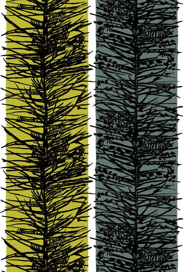 Lucienne Day - larch fabric