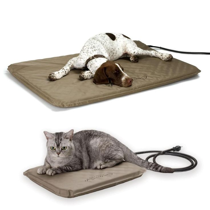 Pet Heating Pad Heated Cat Dog Bed Electric Mat Warmer Indoor Heater