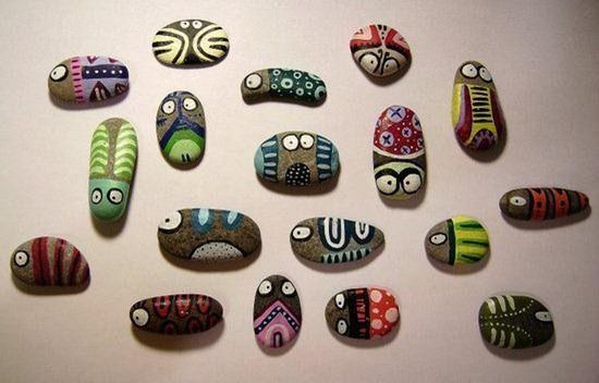 Manualidades-con-Piedras: http://www.manualidadesinfantiles.org/ideas-de-manualidades-con-piedras