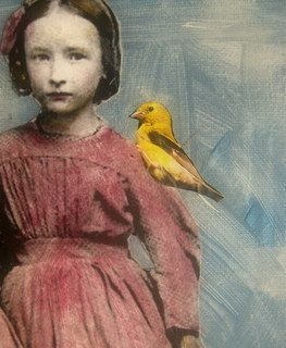 vintage+girl+painting+unique+and+original+by+MaudstarrArt+on+Etsy,+$36.99