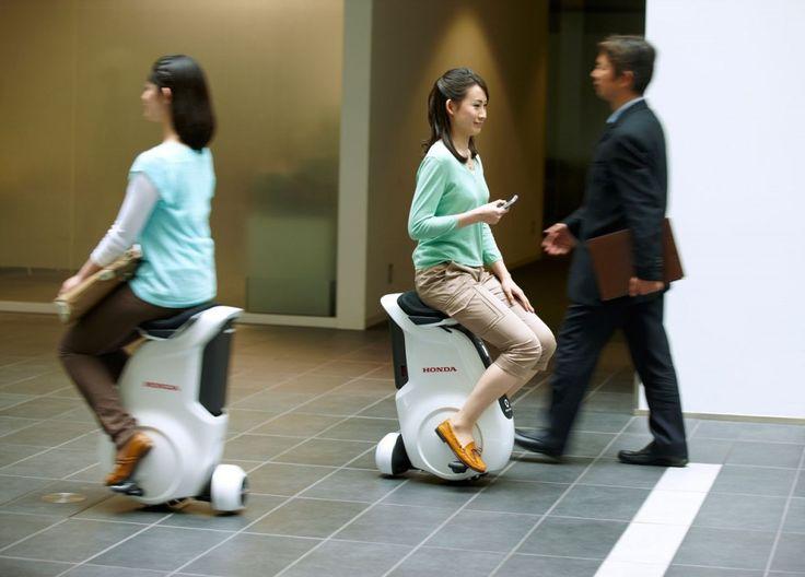 The Honda Uni-Cub, the future of personal mobility