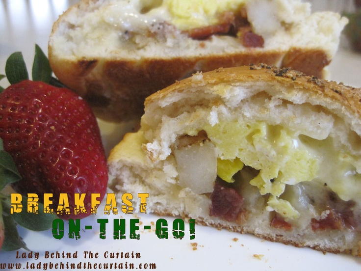 Breakfast On-The-Go!: Curtains, Hands Pies, Breakfast Biscuits, Breakfast Sandwiches, Breakfast Food, Breakfast Recipe, Breakfast On The Go, Onthego, Breakfast Brunch