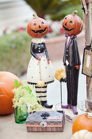 If I had Pinterest for my wedding...these probably wouldn't have beat my skeletons, but close 2nd
