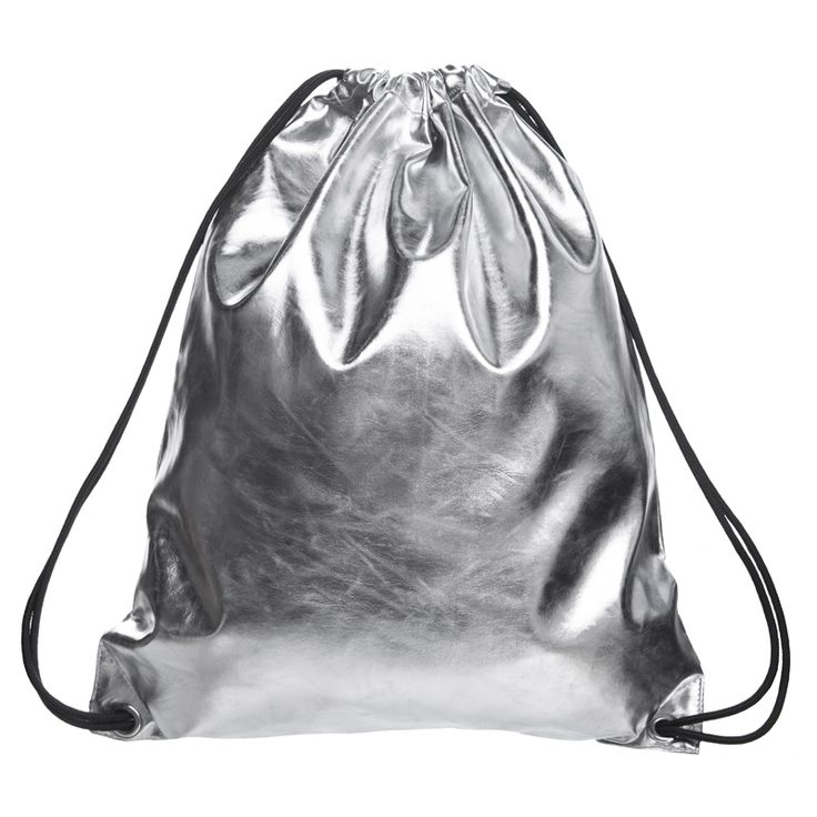 Silver Solid PU mujer 2016 Nueva mochila masculina mochila de cuero mochila mujeres mochilas mochilas mochilas escolares para adolescentes