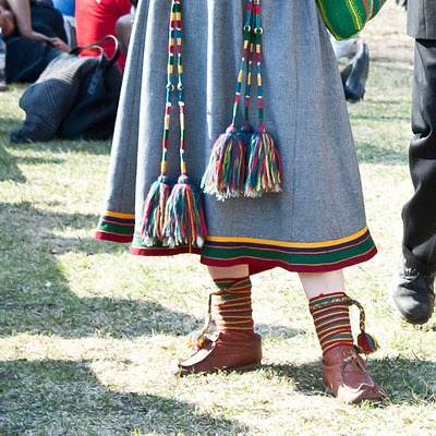 Sami Gákti possible from Lyngen in Norway. Samekofte som sannsynligvis er fra Lyngen. 17 mai 2011. Flickr Photo by alcarilinquë, Ryan Txanson, 2011.