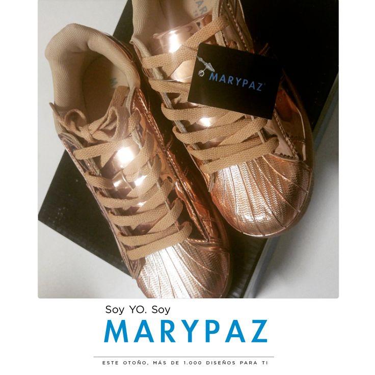 Buenos días con el #Shoelfie de Yedra Seara Fernández con sus preferidos de la temporada  ¡Nada mejor que estrenar zapatos nuevos!  Hazte con esta DEPORTIVA COPPER aquí ►http://www.marypaz.com/trendy/deportiva-tendencia/deportiva-punta-reforzada-01901bw151206-74649.html   Soy YO. Soy MARYPAZ  ¡¡Más de mil diseños para ti!!  #SoyYoSoyMARYPAZ #Follow #winter #love #otoño #fashion #colour #tendencias #marypaz #locaporlamoda #BFF #igers #moda #zapatos #trendy #look #itgirl #invierno #AW1