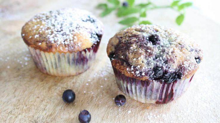 Blåbærmuffins - Godt.no - Finn noe godt å spise