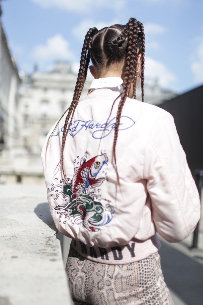 You know you've got some serious style if you can make ed hardy look good.! |today's top style|
