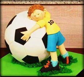 Bolo bola futebol