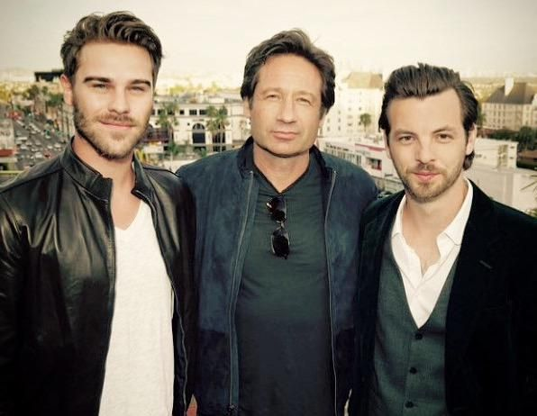 David Duchovny, Grey Damon and Gethin Anthony - Aquarius