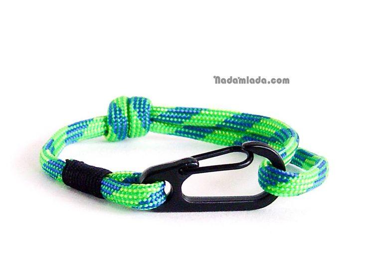 Men jewelry, gifts for climbers, sailor knot bracelet <3 www.nadamlada.com <3 #men #boy #boybracelet #boyfashion #menfashion