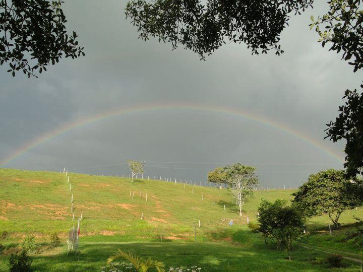 Arco iris Restrepo valle del Cauca colombia