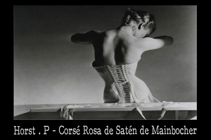 Fotografía de Moda, Fotografia Erótica  Corsé Rosa de Satén de Mainbocher   http://www.eroticalenceria.com/corse-rosa-saten/