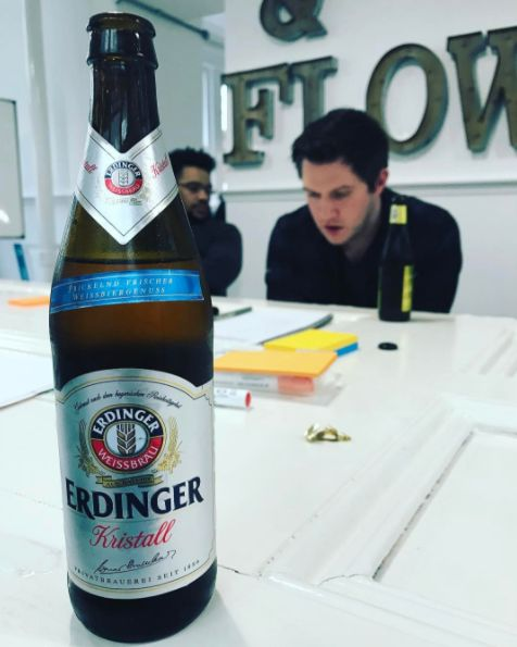 Meeting are generally speaking, much better with beer.