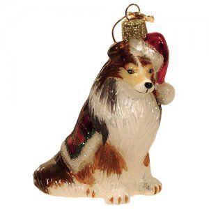 Noble Gems Sheltie Christmas Ornament | Christmas Ornaments ...