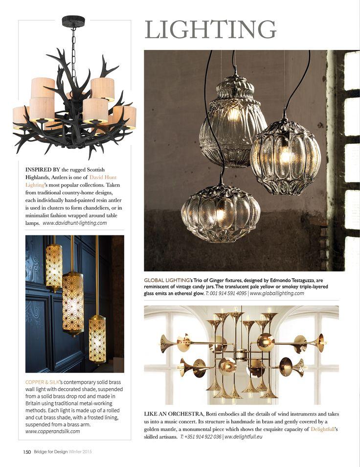 Bridge For Design magazine - Our Deco pendant lights