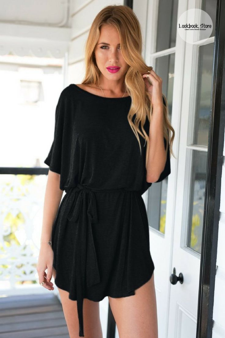 Black t shirt goes with - Black T Shirt Dress