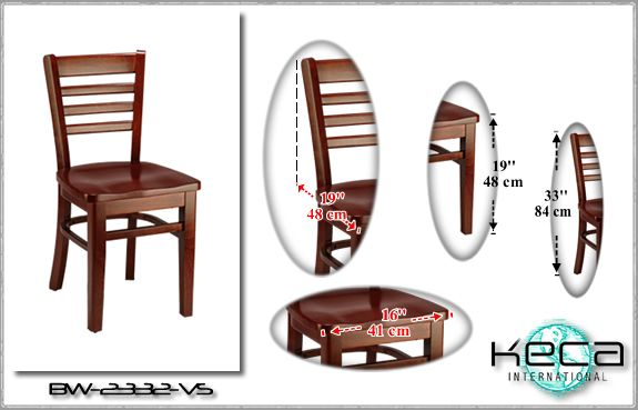 Wood Chairs BW 2332 US