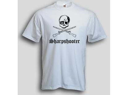 T-Shirt Sharpshooter / mehr Infos auf: www.Guntia-Militaria-Shop.de