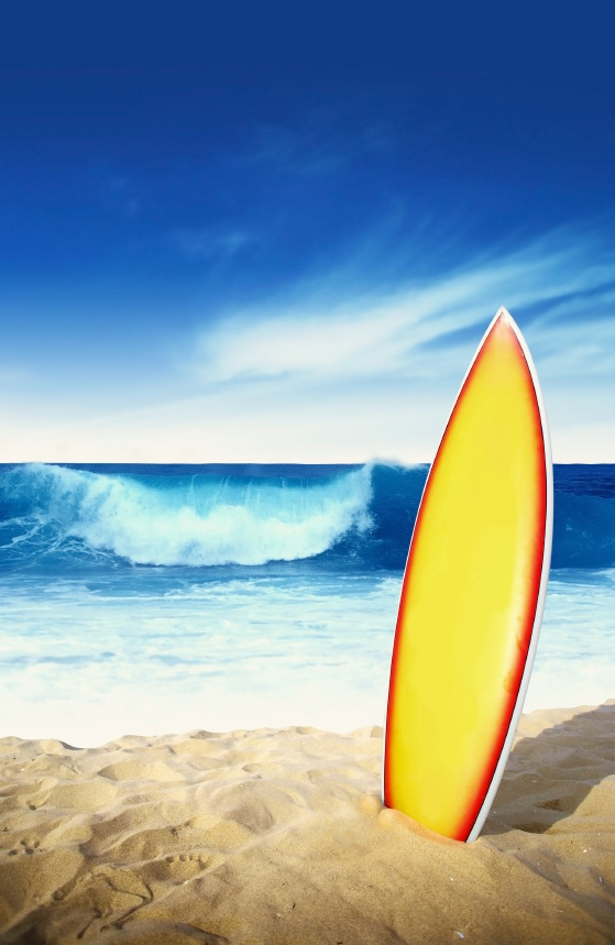 When visiting Orange County, take a surfing lesson at the Surfrider's Academy in Huntington Beach.