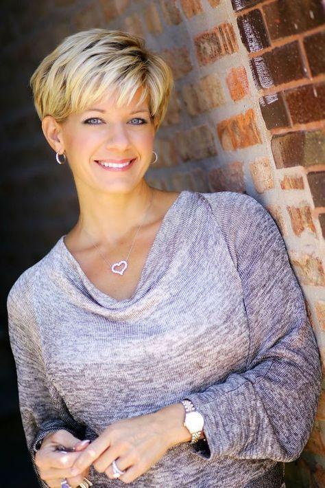 Kurze Frisuren für über 50 feine Haare – Maria Wiliams Hairstyles Blog
