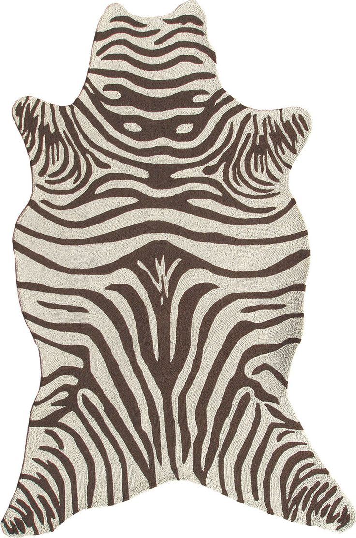Modernrugs.com Resort Zebra Shaped Modern Rug