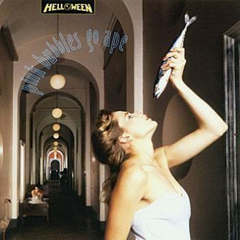"""Cade oggi l'anniversario di pubblicazione dell'album degli #Helloween intitolato """"Pink Bubbles Go Ape""""."""