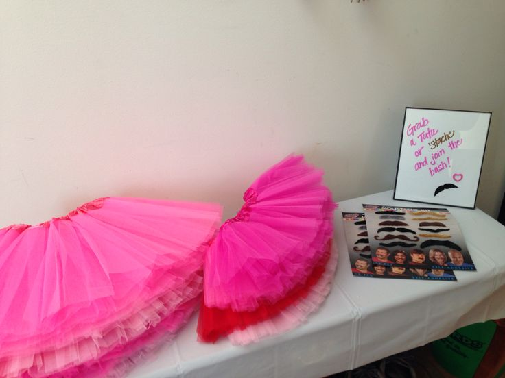 Grab a Tutu or Stache and join the bash!