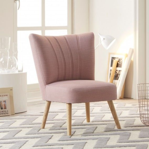 Kollected By Johanna: Retro Sessel Oona I In Mauve | Home24