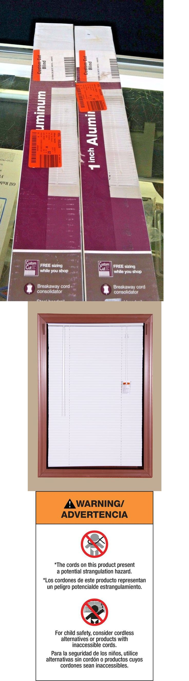 Blinds and Shades 20585: Bali Today Room Darkening 1 Aluminum Mini Blind White 28.6 In X 64 Ins 2 Pack -> BUY IT NOW ONLY: $35.99 on eBay!