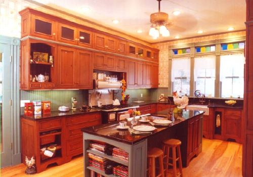 17 best images about home decor on pinterest for Modern victorian kitchen design