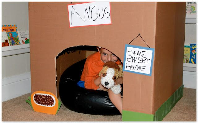 Dog House for Angus. (other projects on this blog also for this)