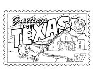 texas regions coloring pages - photo#34