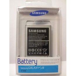 Batería Samsung Galaxy S3 originali9300 EB-L1G6LLUCSTD con capacidad de 2100 mAh es ideal para alargar el tiempo de funcionamiento de tu sm...