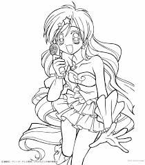 40 Best Coloring Pages Images On Pinterest Draw Cards And Children Hatsune Miku Coloring Pages