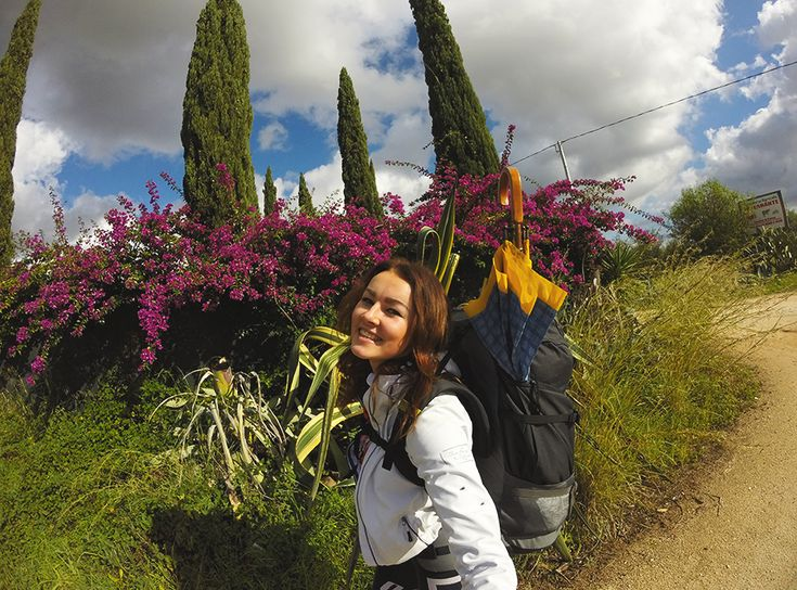 Chiara Magi - Sicilian Vibes - Colorful flowers filling all the roads
