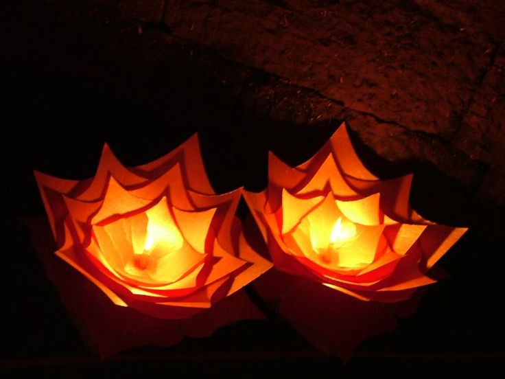 Pretty floating lanterns