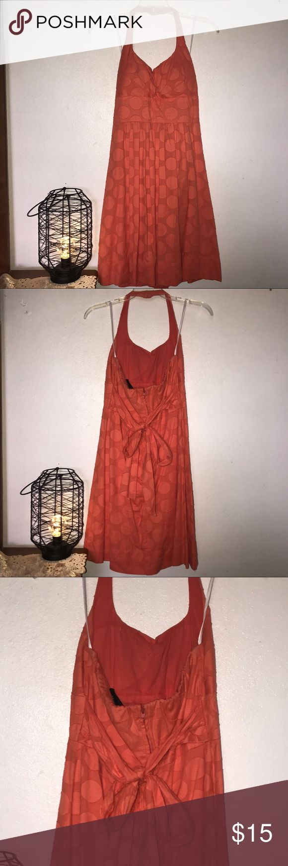 🦀Coral Summer Dress🦀 🦀Beautiful Coral Summer Dress🦀 Brand: B. Smart🦑Perfect for every occasion, even to go on a boat trip. Perfect for dates day and night. Worn only for a graduation. Don't look dull this summer and look like a summer goddess.💖 B. Smart Dresses Backless